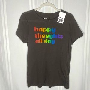 Chaser Happy Thoughts All Day Short Sleeve T-shirt